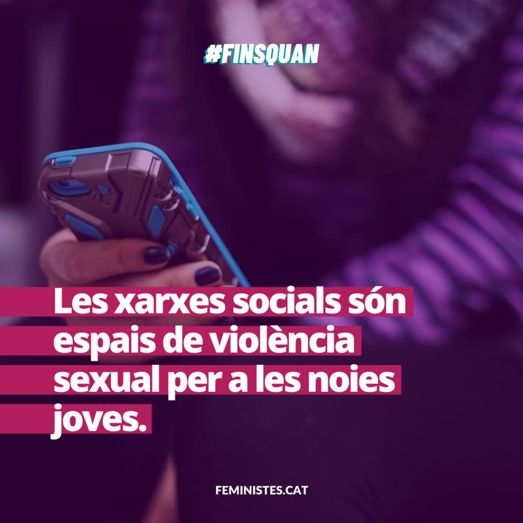 Les xarxes socials són espais de violència sexual per a les noies joves.